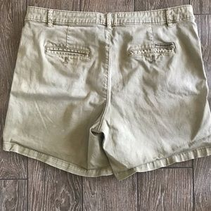 Chino shorts -khaki colored
